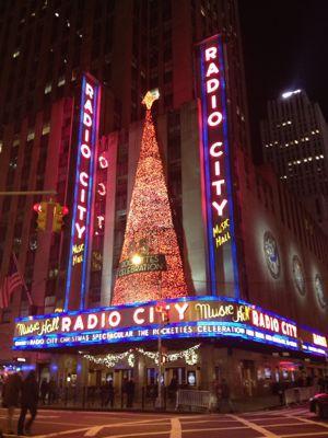 ニューヨーク☆クリスマスシーズンの夜景☆_f0095325_1352332.jpg