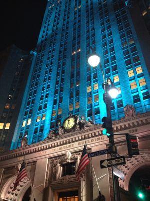 ニューヨーク☆クリスマスシーズンの夜景☆_f0095325_1352670.jpg