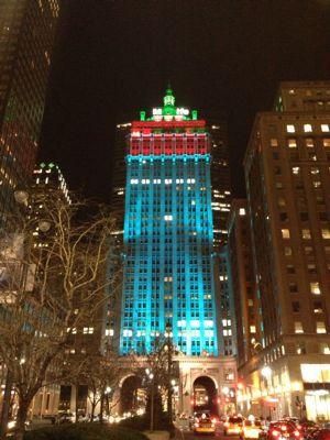 ニューヨーク☆クリスマスシーズンの夜景☆_f0095325_135279.jpg
