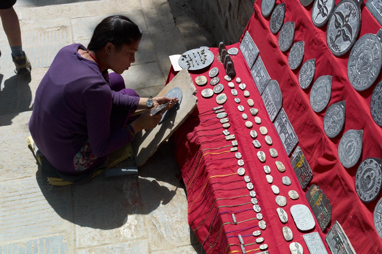 Swayambhunathのお土産屋さん_c0116732_9334877.jpg
