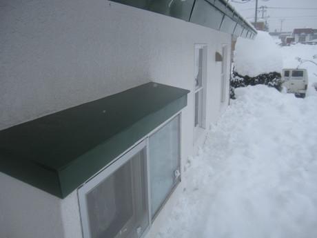 早くも凄い雪の庭とお家ご飯_a0279743_1139311.jpg