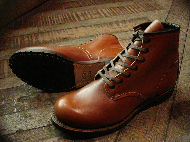 "NEW : REDWING [BECKMAN] & [LINEMAN] ""NEW COLOR\"" 2012 WINTER !!_a0132147_0133394.jpg"