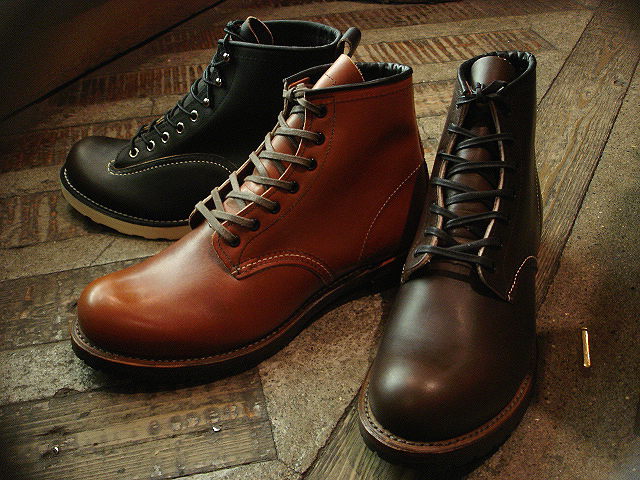 "NEW : REDWING [BECKMAN] & [LINEMAN] ""NEW COLOR\"" 2012 WINTER !!_a0132147_0141760.jpg"