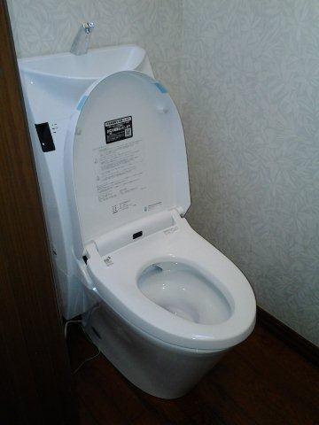 Lixil アステオへトイレをリフォーム(横浜市)_e0207151_14403314.jpg