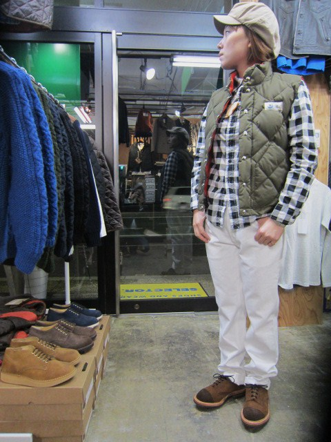 Crescent Down Works ・・・ 完全別注! HOODED QUILT DOWN JACKET!!_d0152280_20423570.jpg