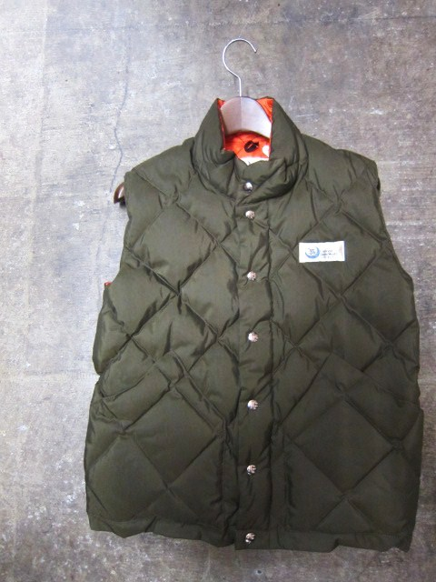 Crescent Down Works ・・・ 完全別注! HOODED QUILT DOWN JACKET!!_d0152280_20425426.jpg