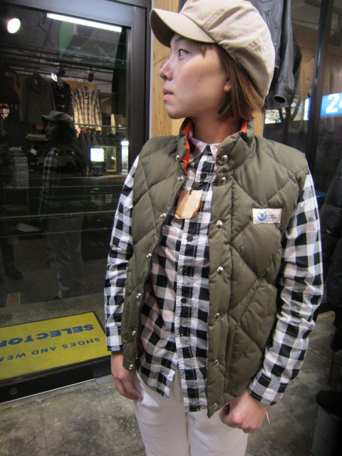 Crescent Down Works ・・・ 完全別注! HOODED QUILT DOWN JACKET!!_d0152280_2043223.jpg