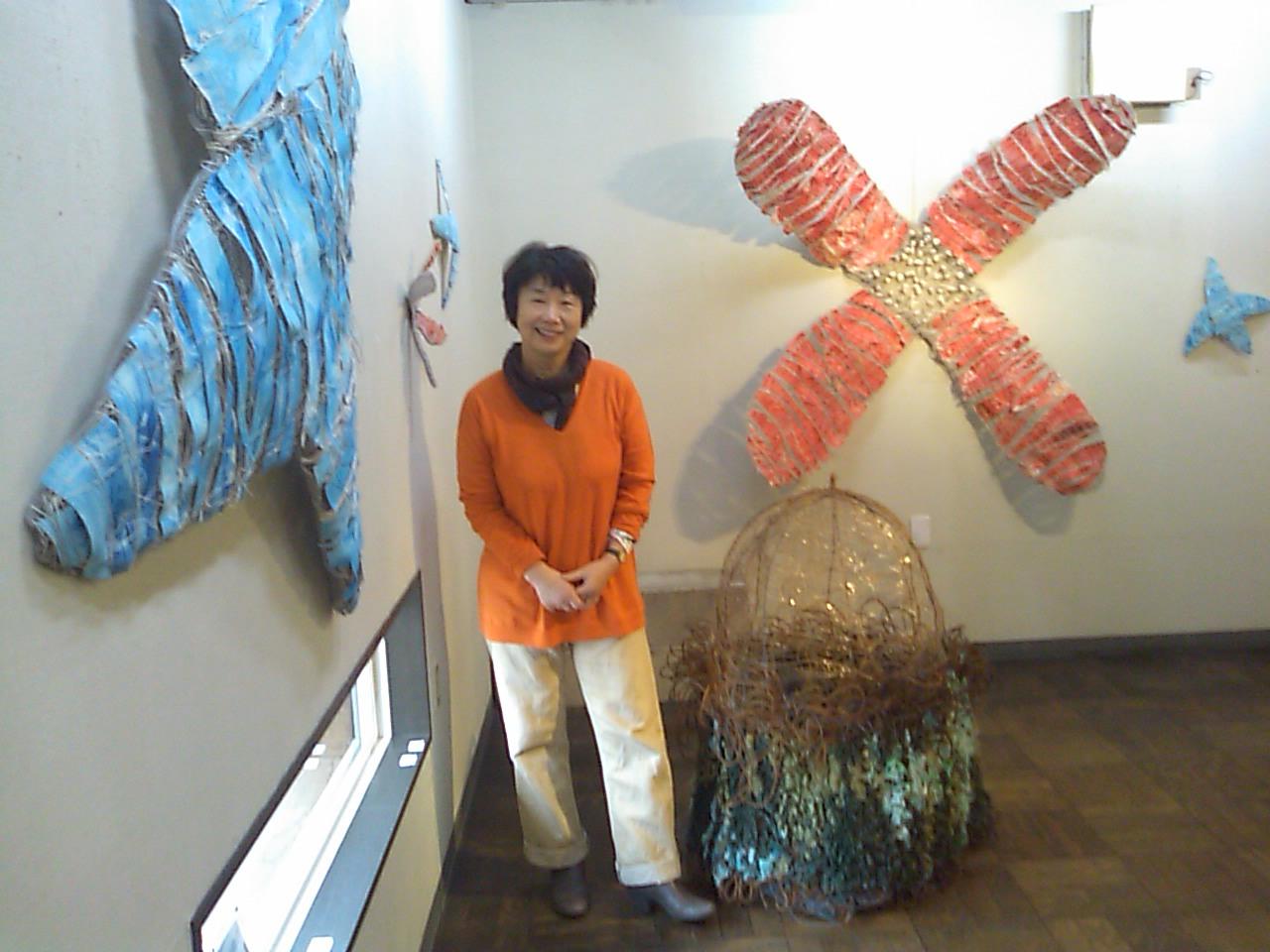 織田千代展 ODA CHIYO FIBER WORKS 2012_e0068696_194382.jpg
