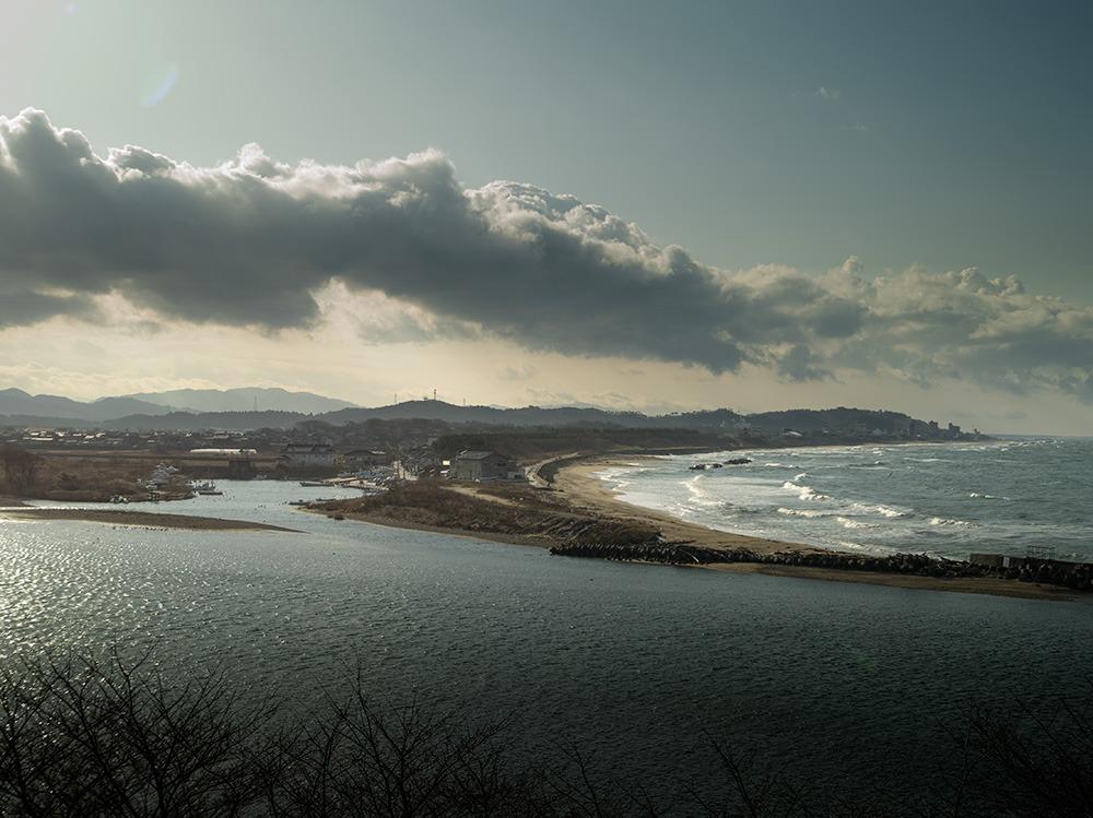 三面川河口図 #PENTAX645D_c0065410_2031955.jpg