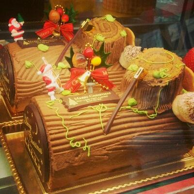 ケーキ屋さんでのクリスマス_a0290531_23155221.jpg