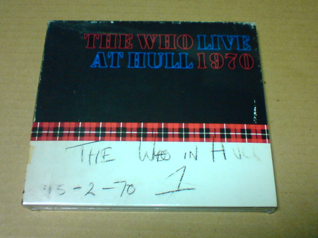 本日到着CD 〜 Live At Hull 1970 / The Who_c0104445_22222592.jpg
