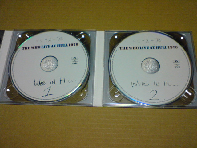 本日到着CD 〜 Live At Hull 1970 / The Who_c0104445_22242582.jpg