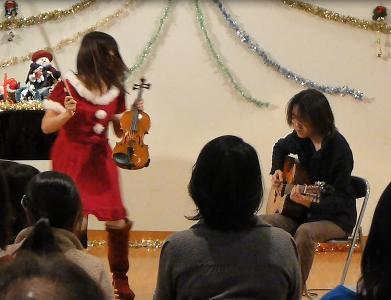 今年最後のライブが終わりました。(アコギ/バイオリンデュオ)_e0188087_0142094.jpg