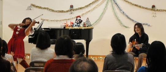 今年最後のライブが終わりました。(アコギ/バイオリンデュオ)_e0188087_0171596.jpg