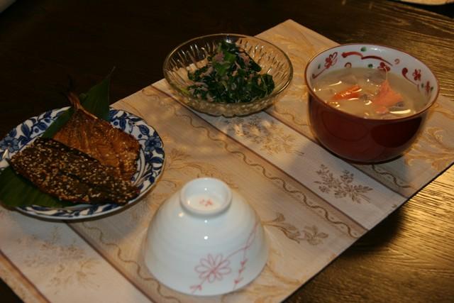 「小松菜のツナ和え 」_f0229190_2254105.jpg
