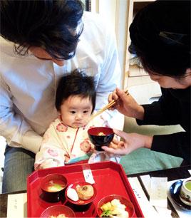一加のお食い初め〜100歳の祖父の香り〜_d0224894_1044824.jpg