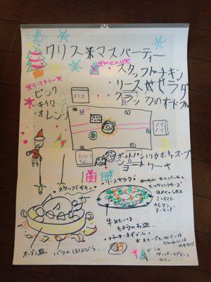 子供とするパーティー準備_e0253101_0143239.jpg