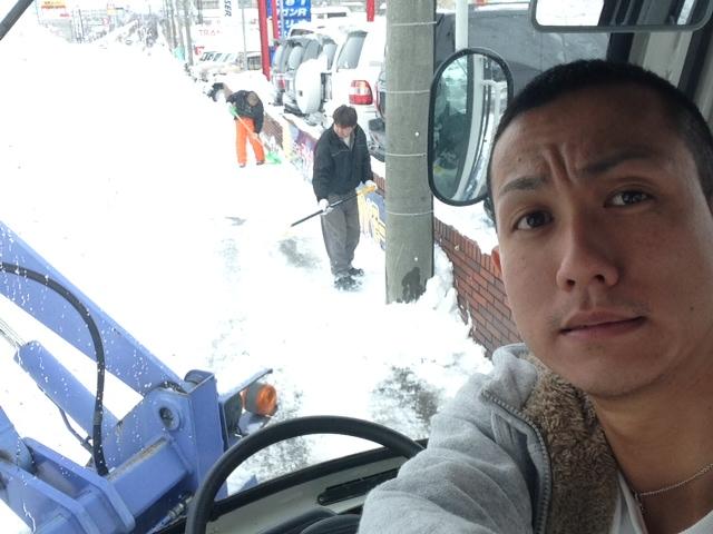今日も除雪です(≧∇≦)_b0127002_12442211.jpg