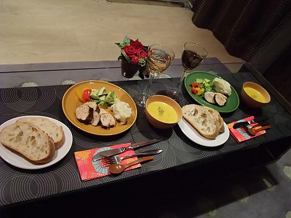 自宅でクリスマスディナー_e0230011_17222539.jpg
