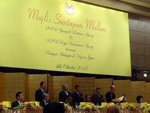 マレーシアの国王の晩さん会に招待されたザミルさん_d0148223_15463890.jpg