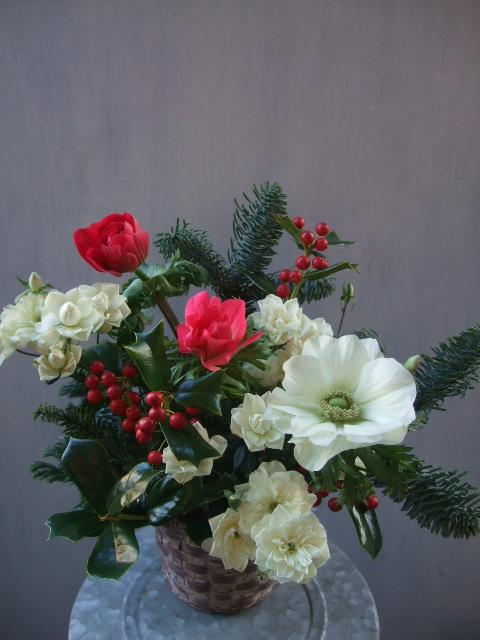 オークリーフ(クリスマスアレンジメント)_f0049672_13263793.jpg