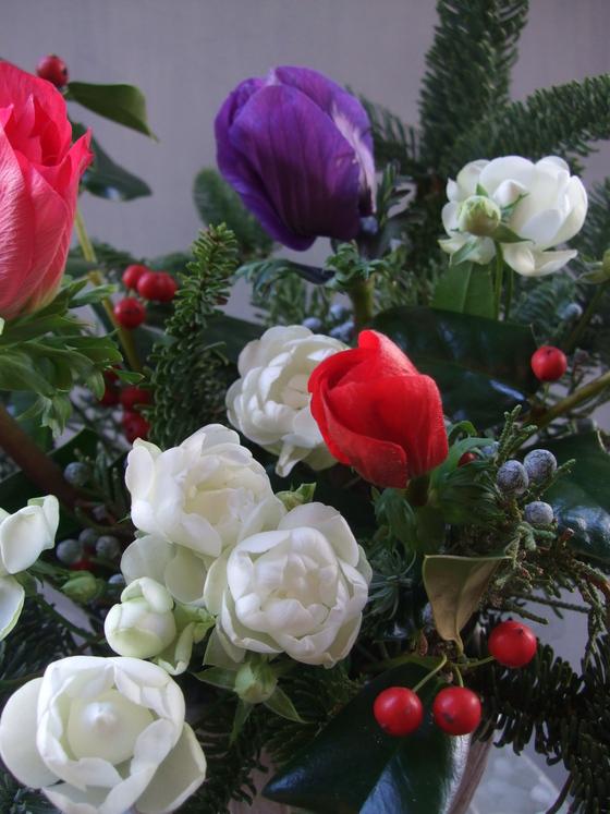 オークリーフ(クリスマスアレンジメント)_f0049672_13264378.jpg