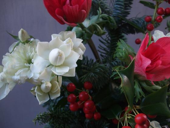 オークリーフ(クリスマスアレンジメント)_f0049672_1326541.jpg