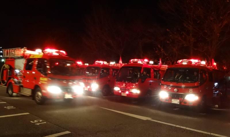 消防団年末特別警戒出発_f0059673_2323412.jpg