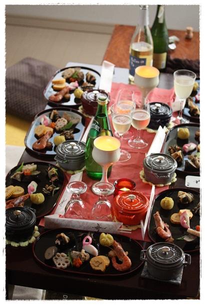 おせちレッスン&クリスマスパーティー@はるひ家_b0165178_14293923.jpg