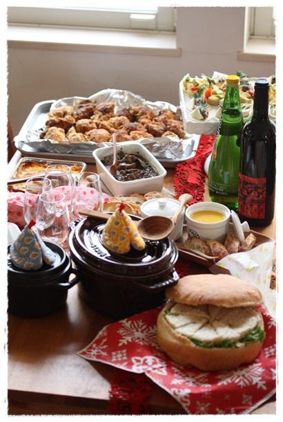 おせちレッスン&クリスマスパーティー@はるひ家_b0165178_14391158.jpg