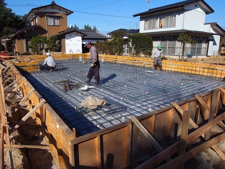 石岡の家 基礎工事完了 2012/12/26_a0039934_17414946.jpg