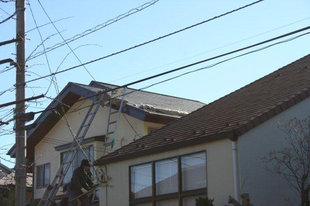 屋根の葺き替えとPanasonic太陽光発電設置2(多摩市)_e0207151_1817445.jpg