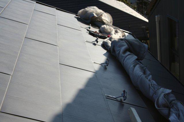 屋根の葺き替えとPanasonic太陽光発電設置2(多摩市)_e0207151_1820366.jpg