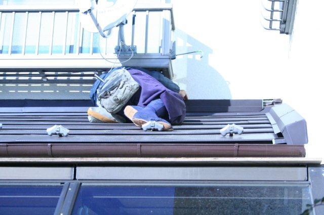 屋根の葺き替えとPanasonic太陽光発電設置2(多摩市)_e0207151_1823330.jpg