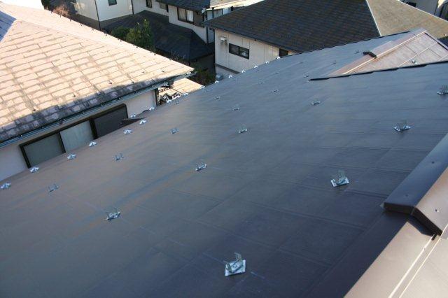 屋根の葺き替えとPanasonic太陽光発電設置2(多摩市)_e0207151_18255582.jpg