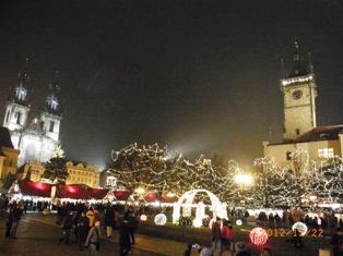 Czech Republic プラハのクリスマスと教会コンサート_e0195766_141964.jpg