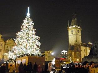 Czech Republic プラハのクリスマスと教会コンサート_e0195766_145365.jpg