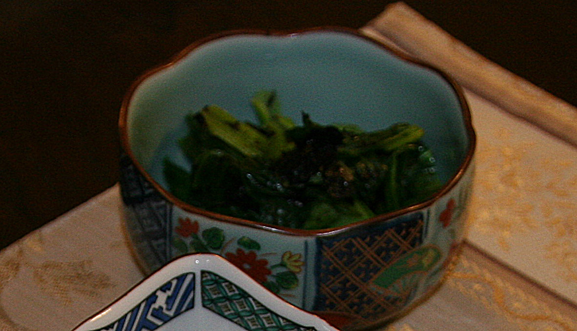 「小松菜の海苔あえ」_f0229190_22311667.jpg