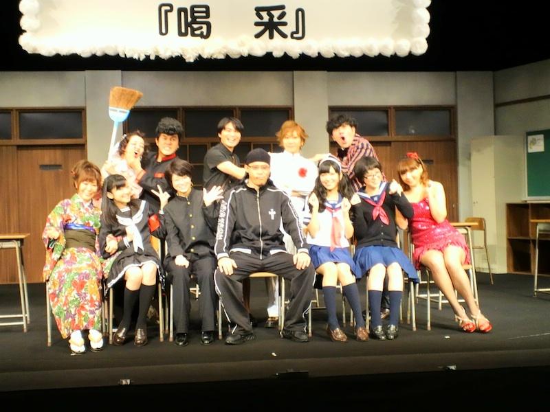 2012年の想い出〜初舞台「喝采」〜_a0114206_18124461.jpg