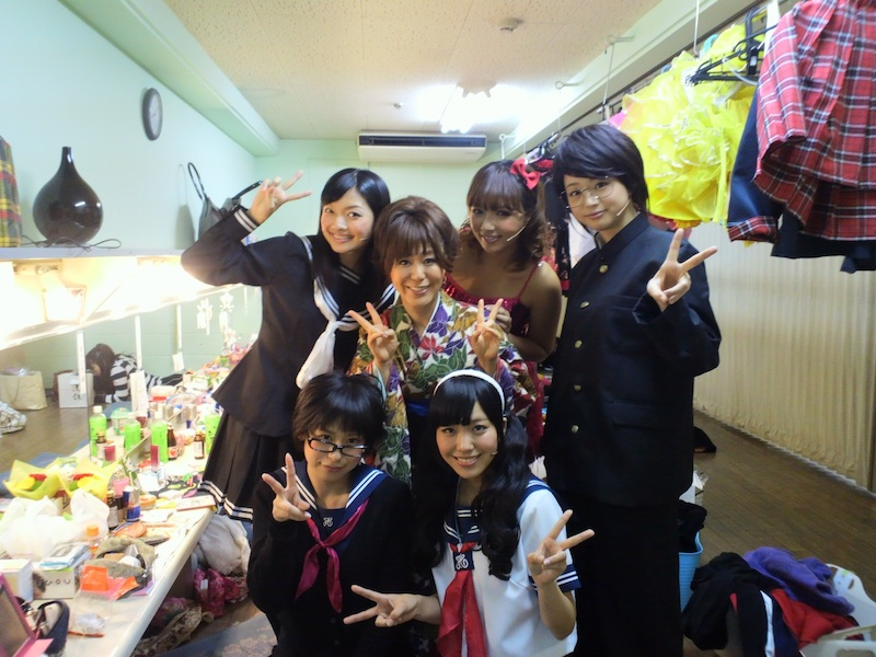 2012年の想い出〜初舞台「喝采」〜_a0114206_1815369.jpg