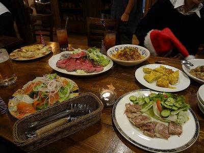 身内のクリスマスパーティー 【Chef's Report】_f0111415_0482798.jpg