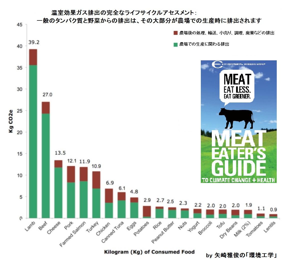食品のカーボンフットプリント(制度、温室効果ガス排出量、LCA、栄養素密度、NDCIインデックス)_e0223735_1646665.jpg