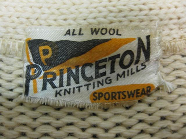 Princeton Knitting Mills レタードカーディガン_b0114845_17391081.jpg