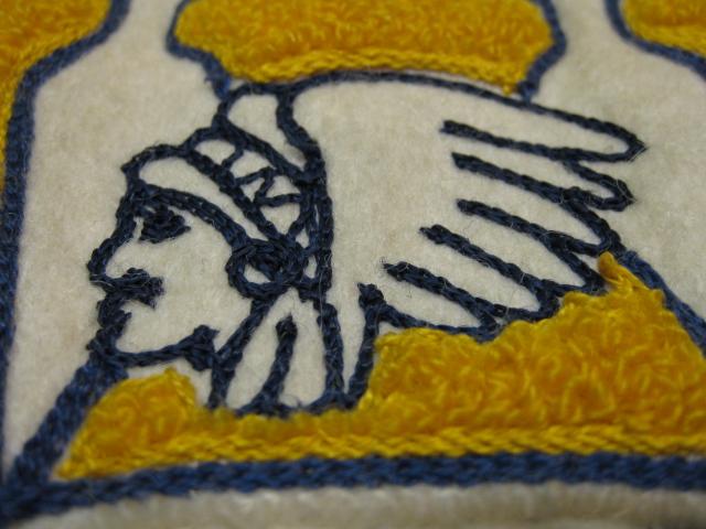Princeton Knitting Mills レタードカーディガン_b0114845_1739231.jpg