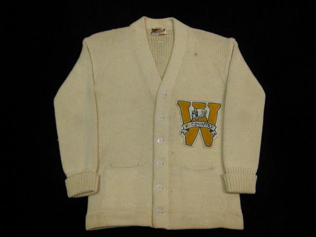 Princeton Knitting Mills レタードカーディガン_b0114845_1739265.jpg