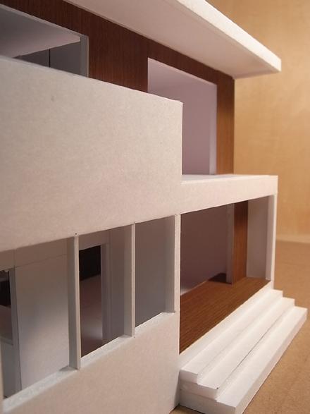 『香久池の家』 1:50で模型スタディ中_e0197748_18431049.jpg