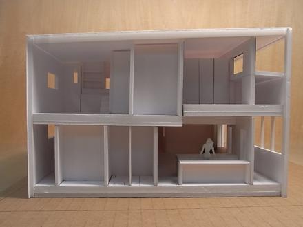 『香久池の家』 1:50で模型スタディ中_e0197748_18431560.jpg