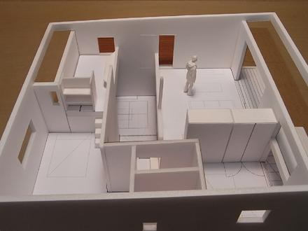 『香久池の家』 1:50で模型スタディ中_e0197748_1843483.jpg