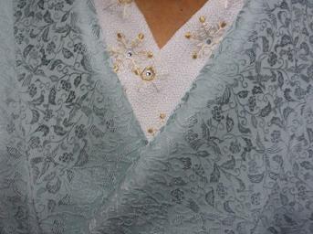 野田淳子さん・素敵な色無地のイブの着姿。_f0181251_17595663.jpg