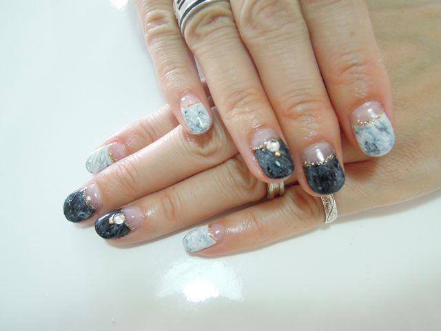 Marble Nail_a0239065_14442834.jpg